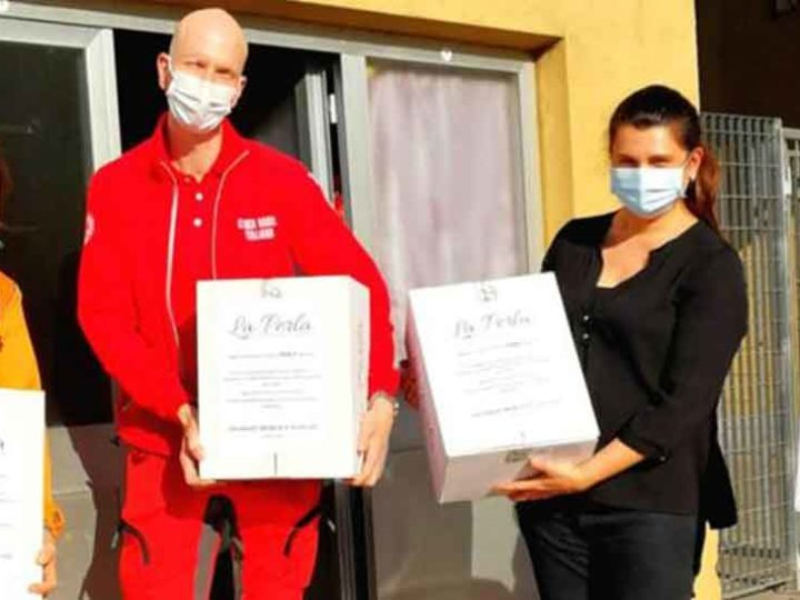 100kg di cioccolato per supportare la Croce Rossa Italiana