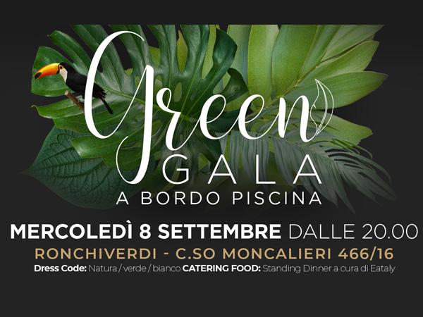 Ronchiverdi: Green Gala a bordo piscina con Eataly